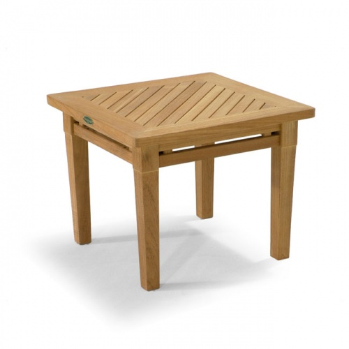 Teak End Table - Picture A