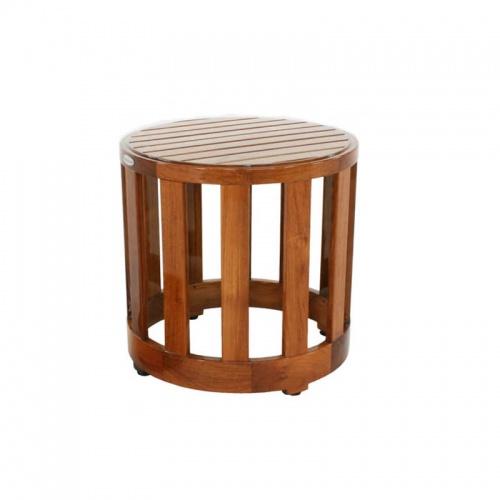 Kafelonia Teak Side Table  - Picture C