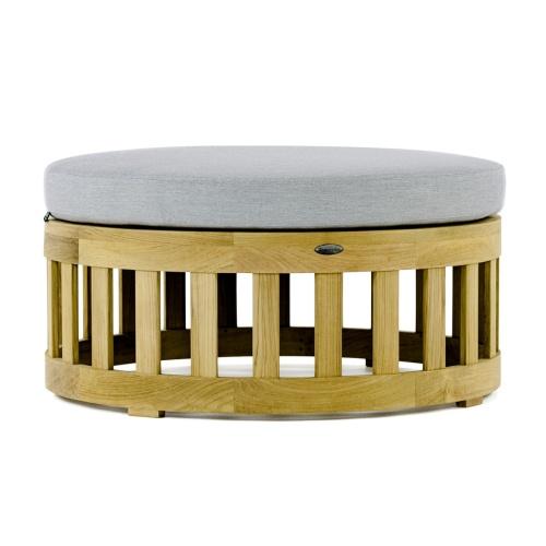 Kafelonia Round Teak Coffee Table - Picture C