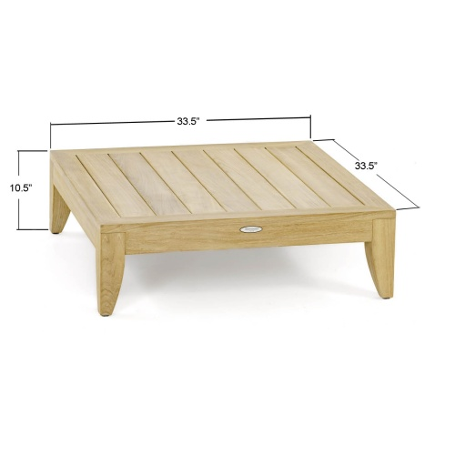 Aman Dais Coffee Table - Picture H