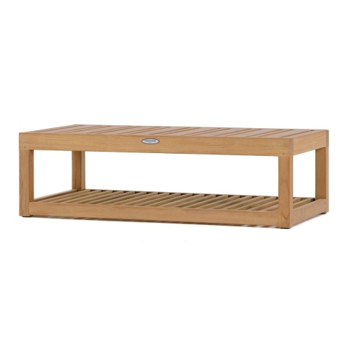 Maya Teak End Table - Picture A