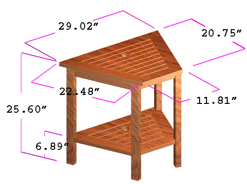 Side End Table - Picture E