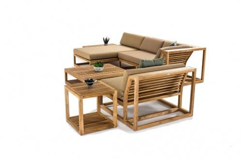 teak wood end tables