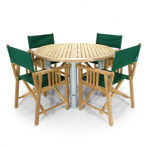 Westminster Teak 4 FT Round Gemini Table Clearance - Picture B