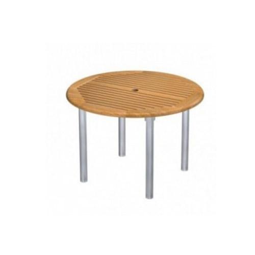 Teak Aluminum Table - Picture A