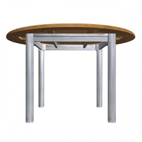 Teak Aluminum Table - Picture B