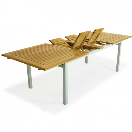 Teak Aluminum Table - Picture A