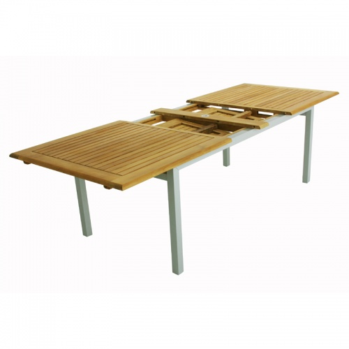 Teak Aluminum Table - Picture C