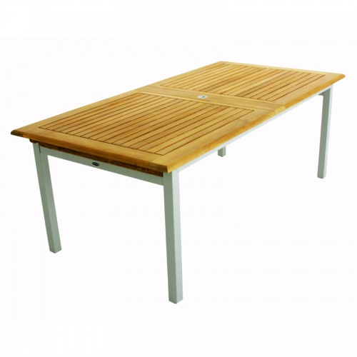 Teak Aluminum Table - Picture D