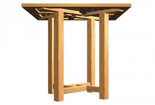 Teak Commercial Dining Table - Picture B