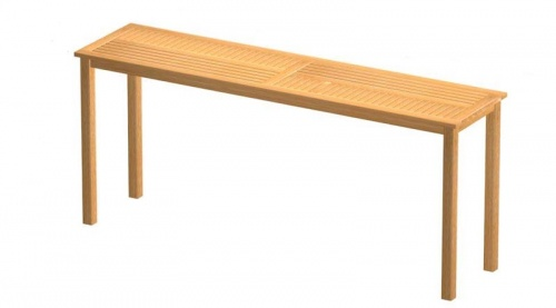 Commercial Teak Table - Picture A