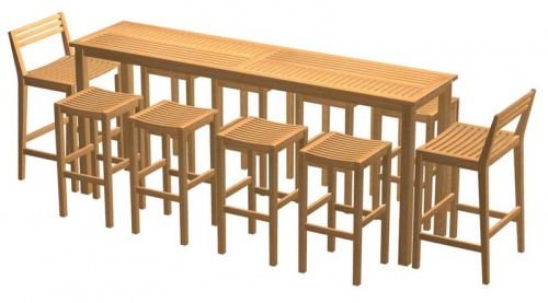 Commercial Teak Table - Picture B
