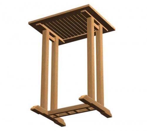 Commercial Teak Table - Picture C