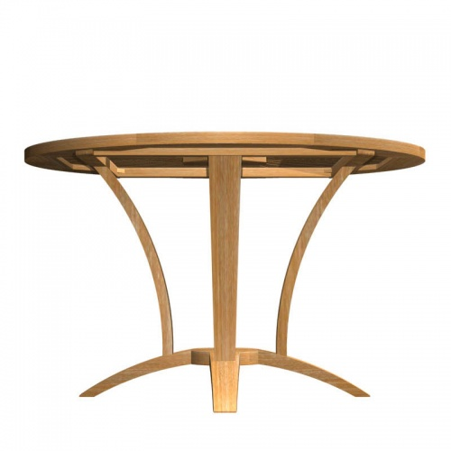 Teak Round Table - Picture D