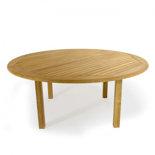 Buckingham 2006 6ft Teak Round Patio Table Clearan - Picture A