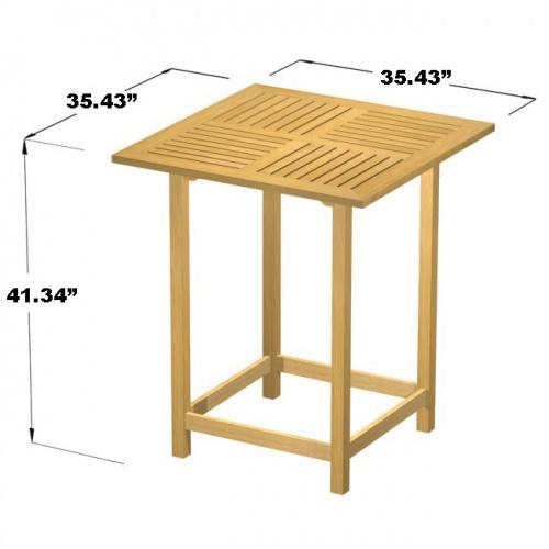 Monaco Bar Table - Picture F