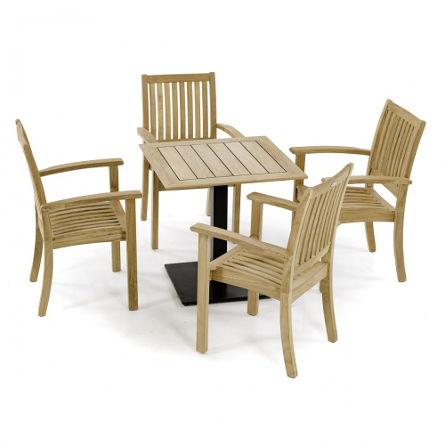 Vogue Square Teak Tabletop | 30 x 30 - Picture M