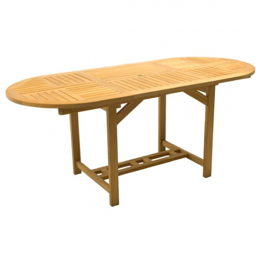 Alicante Ext. Oval Table - Picture A