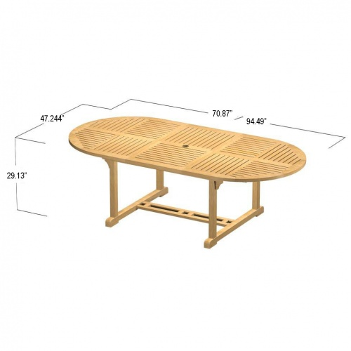Brighton Mustique Extension Table - Picture F