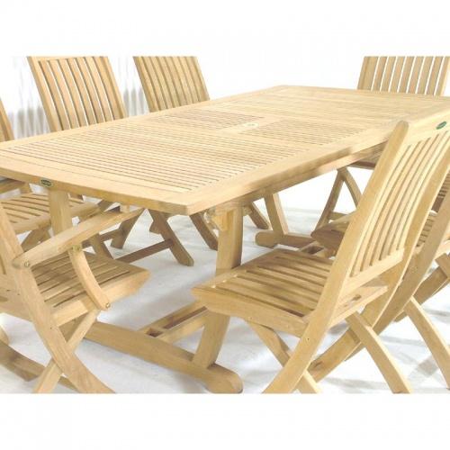 Cayman Veranda Extendable Table - Picture F