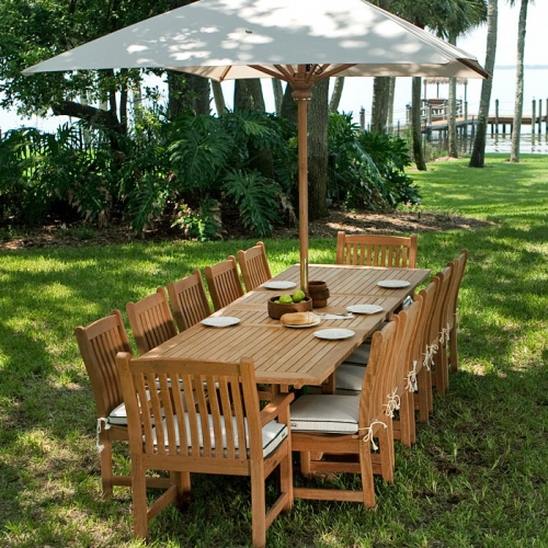 Grand Veranda Large Extendable Table - Picture E