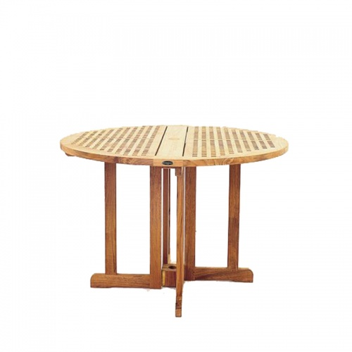 Chequer Folding Table - Picture B