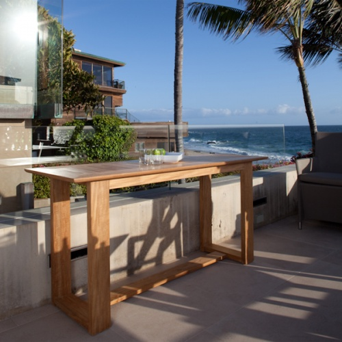 outdoor teak buffet tables