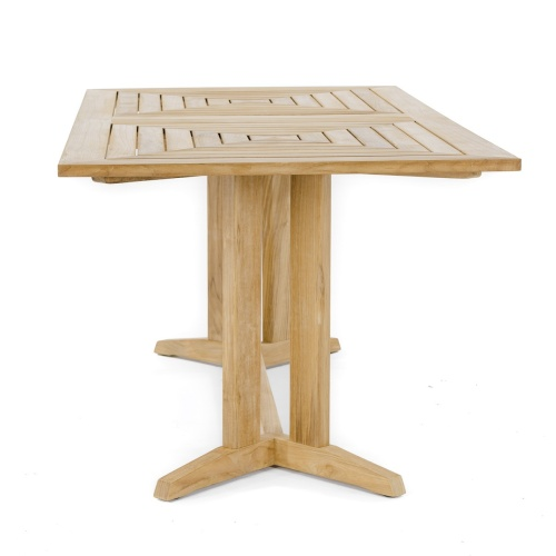 rectangle teak tables