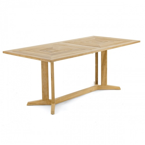 Pyramid 72in-6ft Rectangular Table Refurbished - Picture A