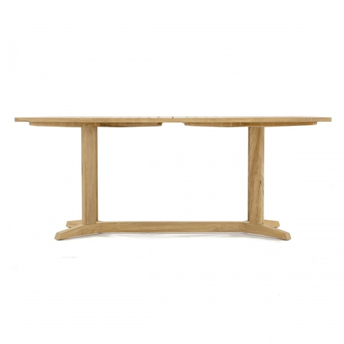 Pyramid 72in-6ft Rectangular Table Refurbished - Picture D