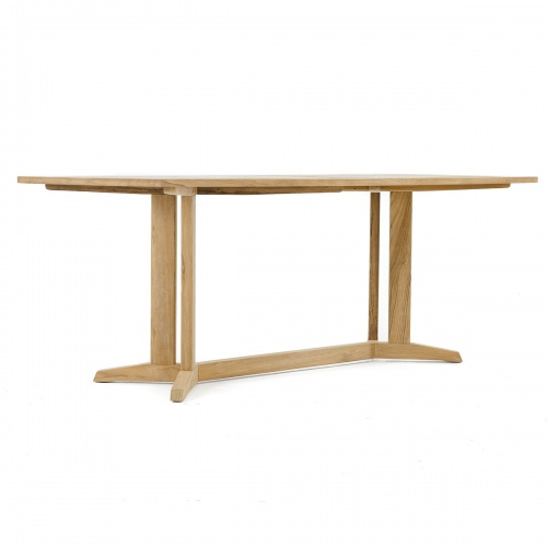 Pyramid 72in-6ft Rectangular Table Refurbished - Picture E
