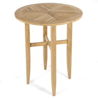 Laguna Round Teak Bar Table