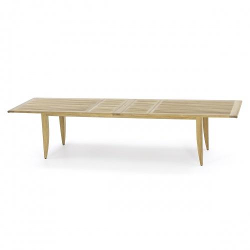 Laguna Large Teak Extendable Table - Picture A