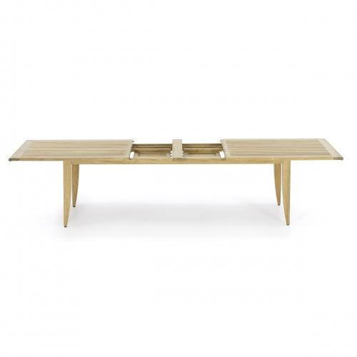 Laguna Large Teak Extendable Table - Picture C