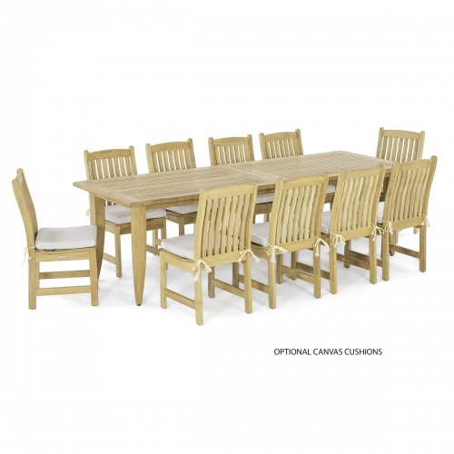 Laguna Large Teak Extendable Table - Picture G