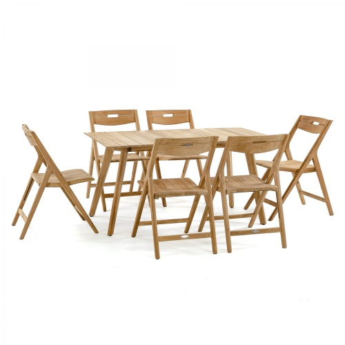 Surf Teak Dining Table - Picture N