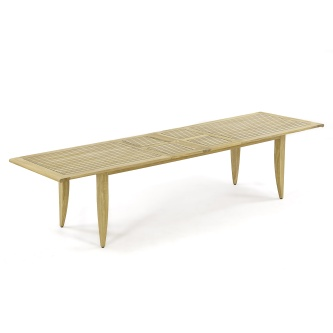 Laguna 11 ft Teak Extension Table (w/ Sikaflex)