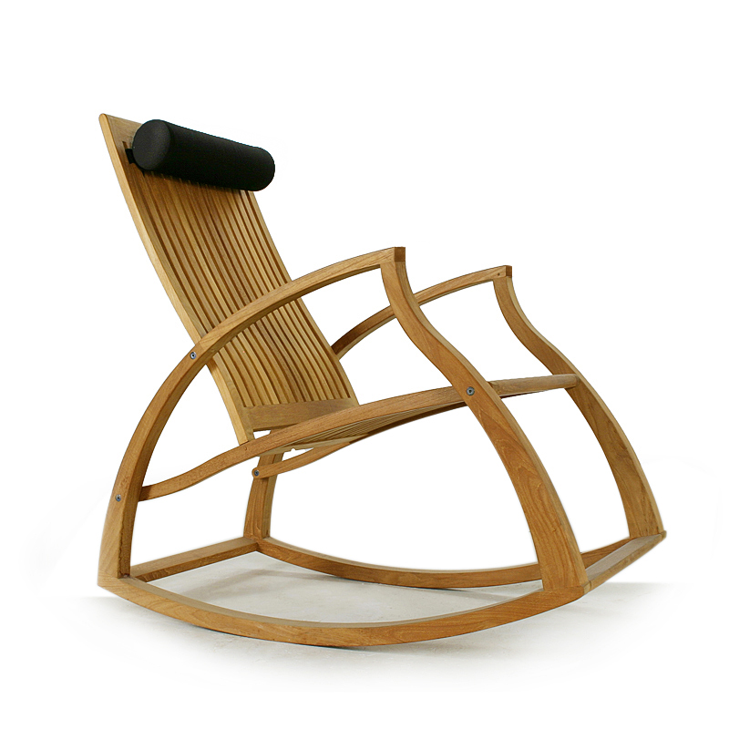 Aria Contemporary Teak Rocking Chair Westminster Teak