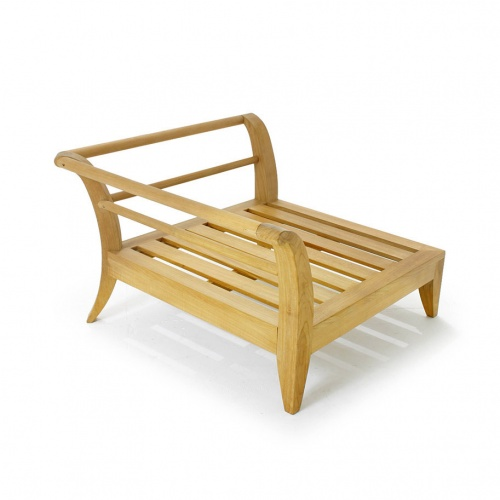 Teak modular daybed - Picture A