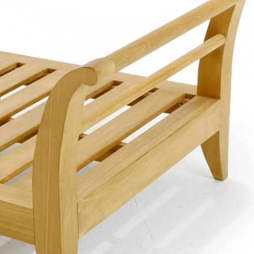 teak slipper chair - Picture B