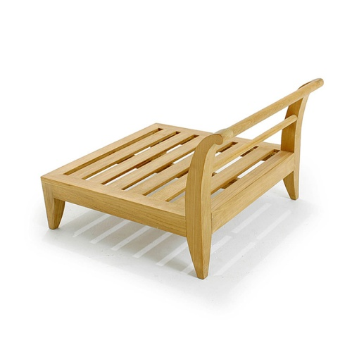deep seating teak lounge furniture