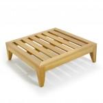 Lifetime 8ft Folding Table Teak Day Bed - Westminster Teak Outdoor Furniture