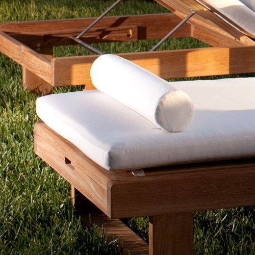 Teak Chaise Lounger - Picture C