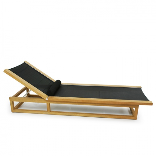 Maya Lounger (Black) - Picture B