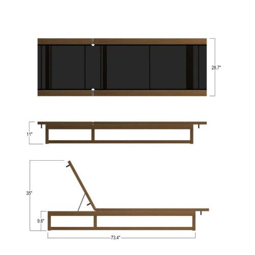 teak pool furniture