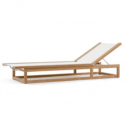 Maya Lounger (White) - Picture C