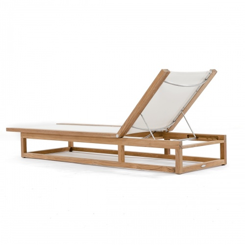 Maya Lounger (White) - Picture F