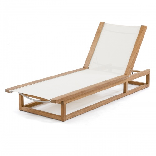 Maya Lounger (White) - Picture G