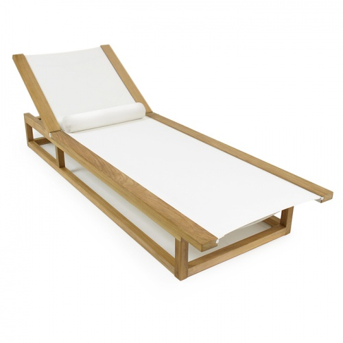 Maya Lounger (White) - Picture H