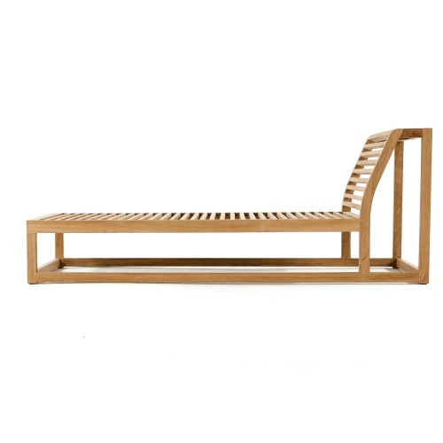 Maya Teak Outdoor Premium Daybed with Sunbrella - Picture H